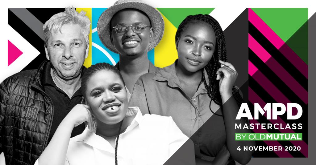 AMPD Masterclass by Old Mutual feat Artist Managers, Sibu Mabena, Thuli Keupilwe and Martin Myers