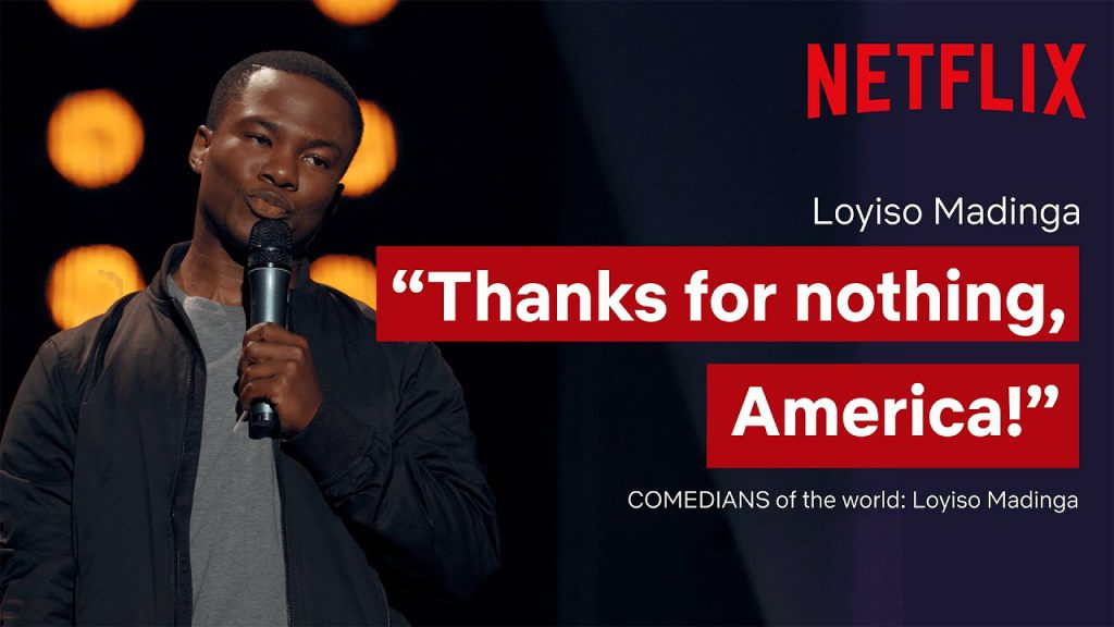 Being a short South African in the USA | Loyiso Madinga: Comedians of The World