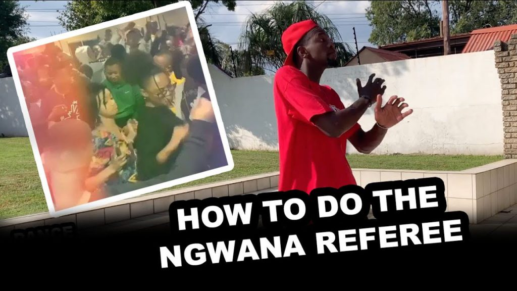 HOW TO DO THE AMAPIANO 'Ngwana Referee' – Dance With Robot (Episode 1)