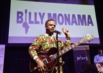 Workshop: Preserving Arts, Heritage and the Culture of Music with Billy Monama