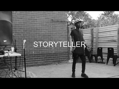 Storyteller at the Creative Zone