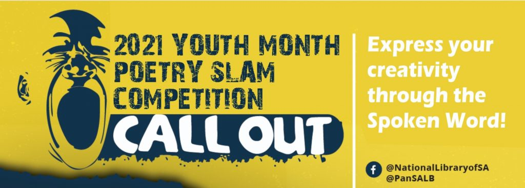 Competition | Youth Month Virtual Poetry Slam Competition 2021