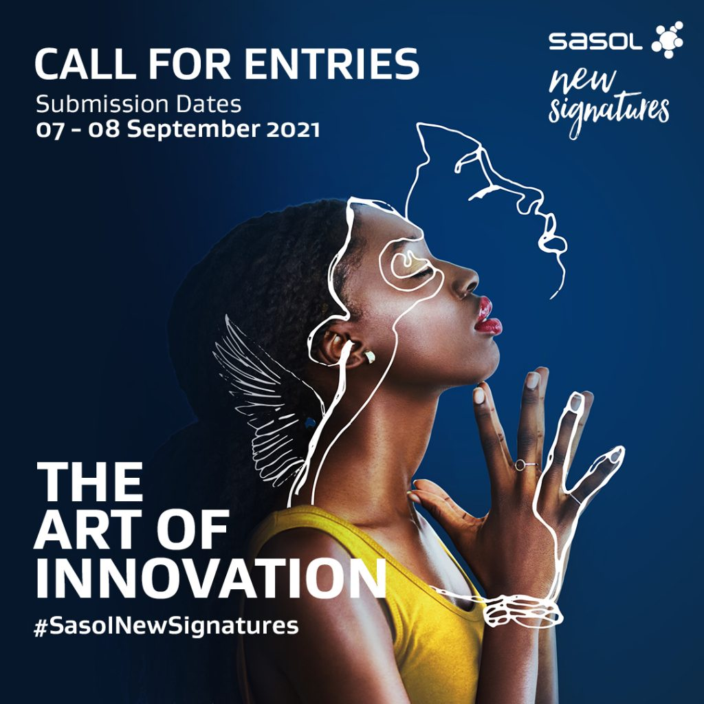Opportunities | Entries Open for The Annual Sasol New Signatures Art Competition 2021
