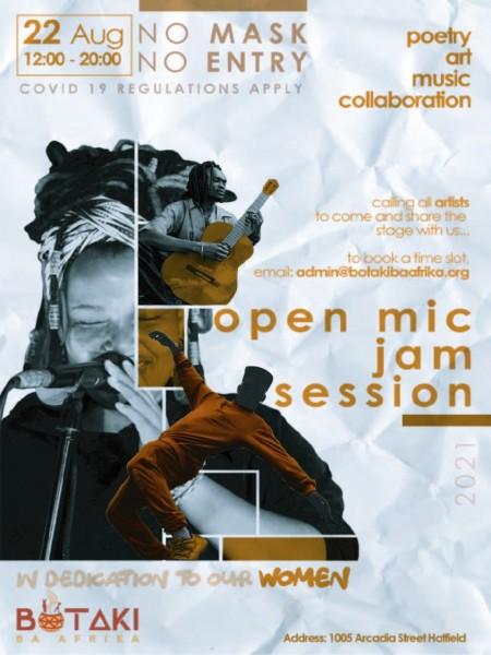 [Events] Botaki Ba Afrika Open Mic Jam Session