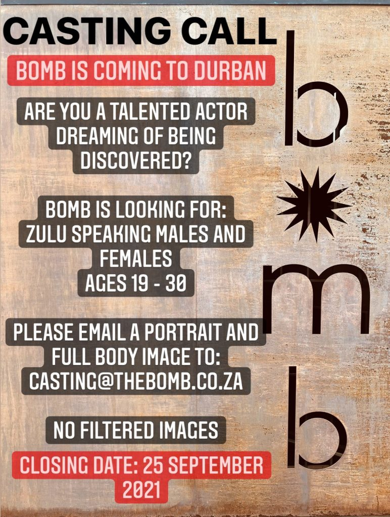 Casting Call: Bomb Shelter Productions Is Seeking Talented Actors